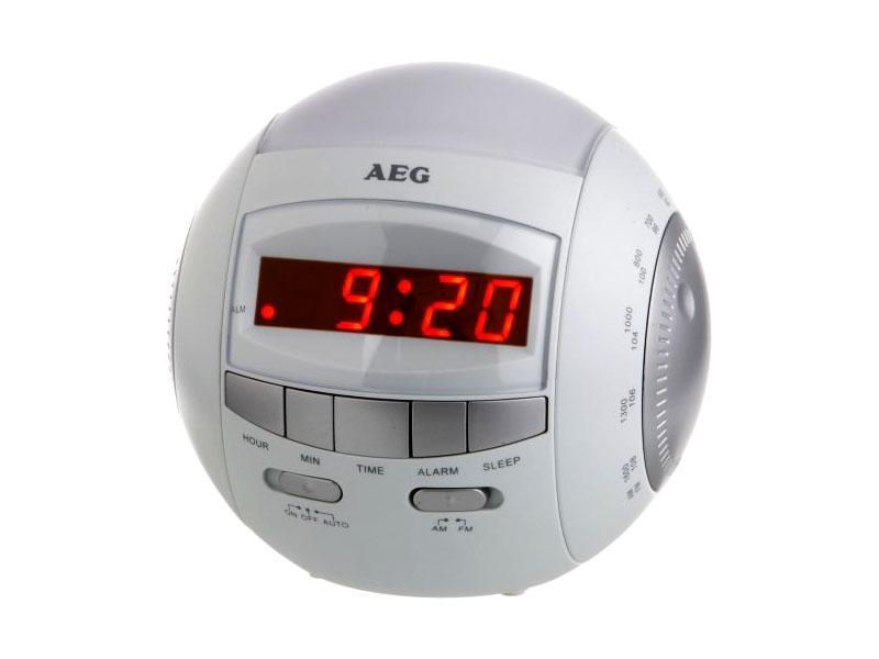 AEG MRC 4109 Clock radio with nightlight AEG