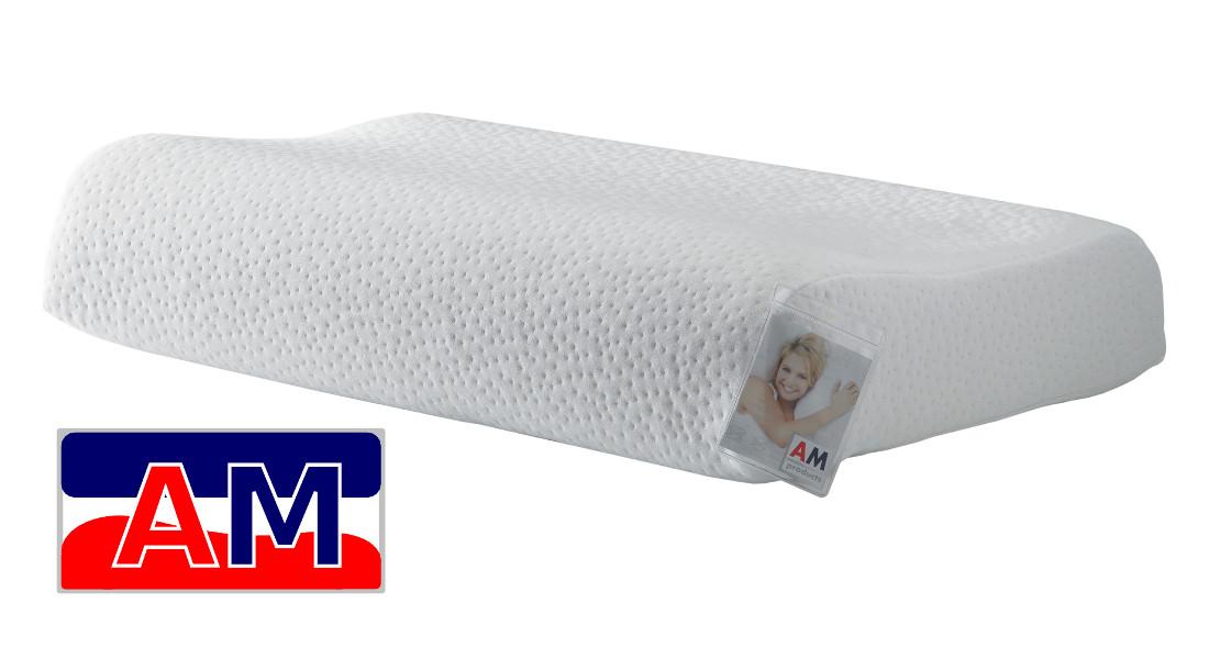 Afbeelding van AMproducts Allegro talalay latex hoofdkussen Soft 11/13cm.