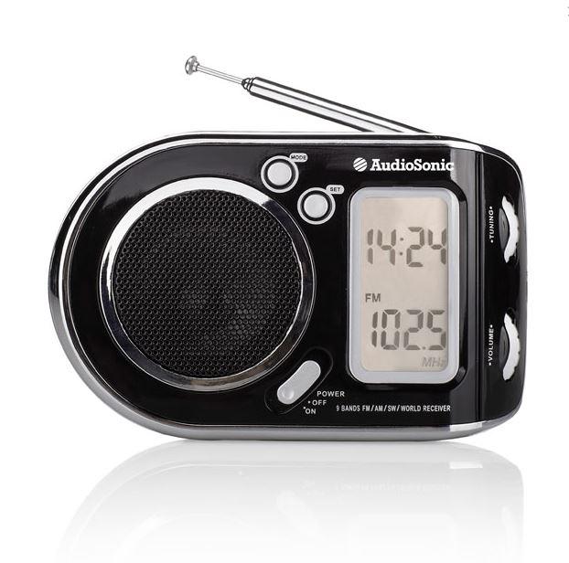 Audiosonic RD-1519 Portable Radio