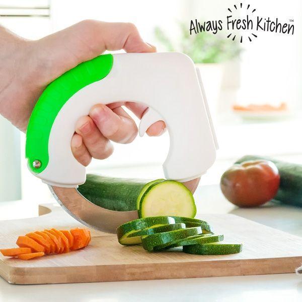 Afbeelding van Always Fresh Kitchen Chop & Roll Cirkelvormig Mes