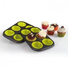 Kitchen Artist Silicone Cupcake Bakvormen