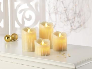 Cozy candles van TV
