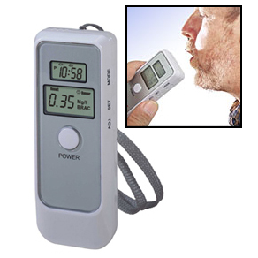 Digitale Alcoholtester met LCD klok