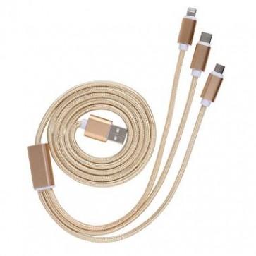 Clip Sonic 3-in-1 USB kabel