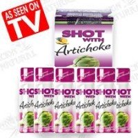 Slimming shot with artichoke