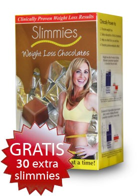 3 x slimmies Xl chocolade