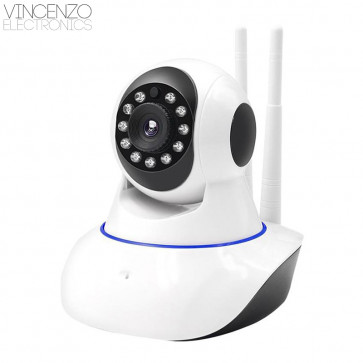 Vincenzo Electronics - Baby Monitor Wifi Camera met Nacht Visie
