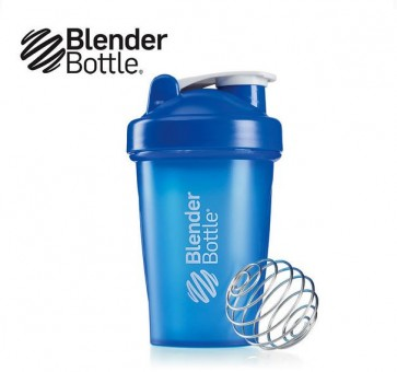 Blender bottle, classic shakebaker 590 ml blauw