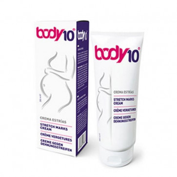 Body10 Creme tegen Zwangerschapsstriemen 200ml