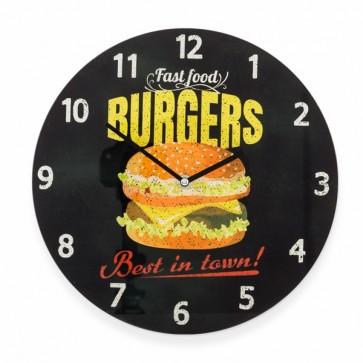 Burgers Wandklok, Burgers Clock, Klok, Wandklok, Burgers,