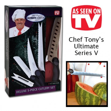 Chef tony messen set