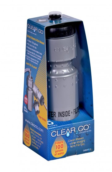 Clear2go waterfles