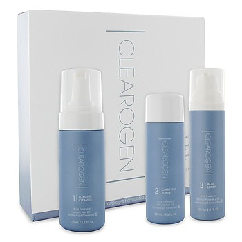 Clearogen Anti-Acne treatment Set