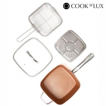 Keramische Multi-kook Pan (4 delig)