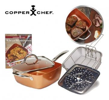 Copper Chef Koperen Pannenset 24 cm