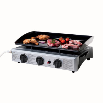 Domoclip Premium Gas Plancha – Gasbarbecue