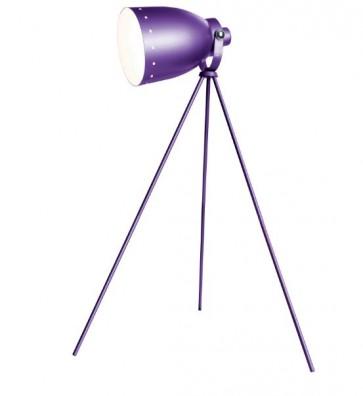 Xtime, driepoot vloerlamp, vloerlamp paars