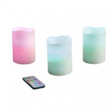 deco led kaarsen, wax kaarsen, kaarsen LH80