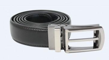 Exact belt leather Zwart