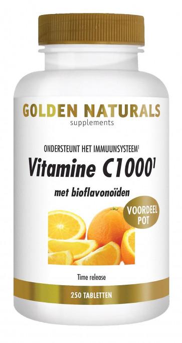 Golden Naturals Vitamine C1000 250 tabletten