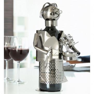 flessenrek voor wijnfles