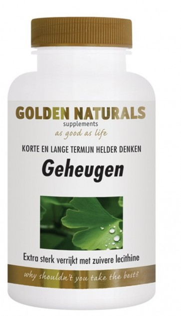 Golden Naturals Ginkgo Biloba Geheugen