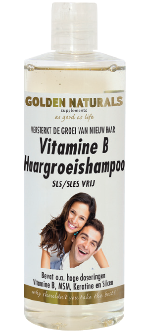 Golden Naturals Vitamine B Haargroeishampoo 400 ml
