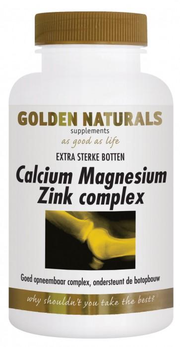 Golden Naturals Calcium Magnesium Zink Complex