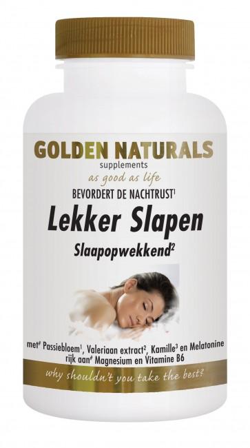 Golden Naturals Lekker Slapen 180 capsules
