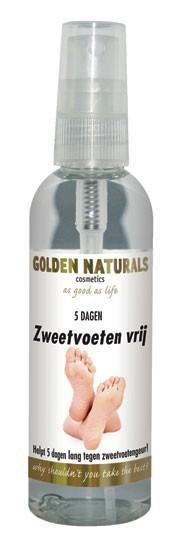 Golden Naturals Zweetvoeten Spray