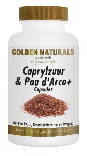 Golden Naturals Caprylzuur & Pau d'Arco