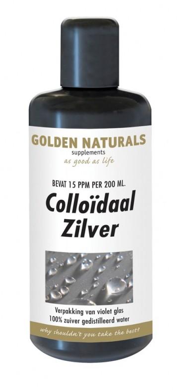 Golden Naturals Colloïdaal Zilver, Golden Naturals Colloidaal Zilver