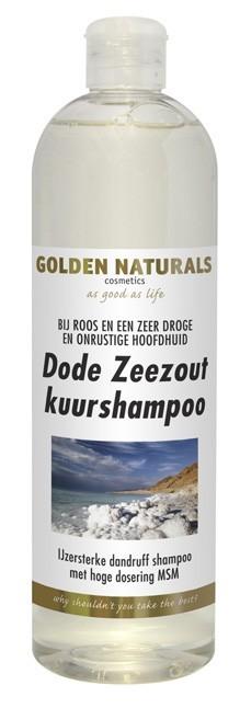 Golden Naturals Dode Zeezout Kuur Shampoo