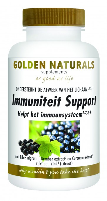 Golden Naturals Immuniteit Support