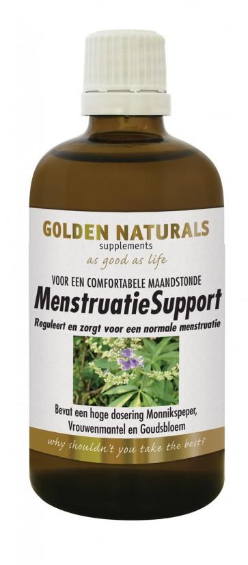 Golden Naturals Menstruatie Support Tinctuur