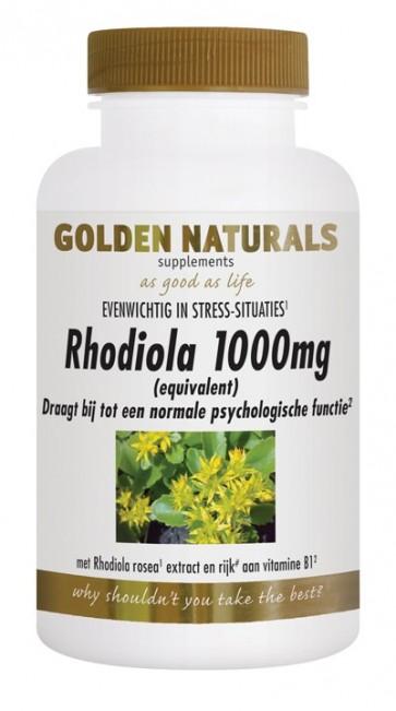 Golden Naturals Rhodiola 1000mg.