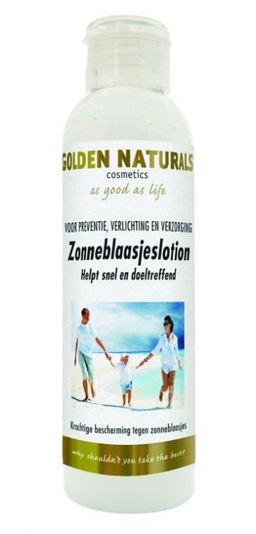 Golden Naturals Zonneblaasjes Lotion