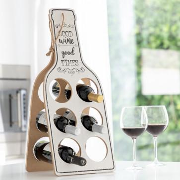 opvouwbaar houten wijnrek