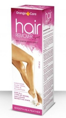 Hair remover spray