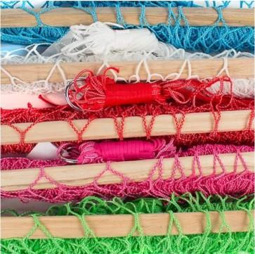 net hangmat blauw, hangmat rood, hangmat roze, hangmat groen