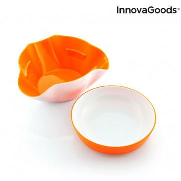 InnovaGoods 2 in 1 Aperitiefschaaltjes