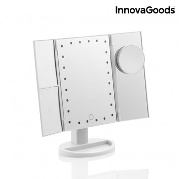 Innovagoods 4 in 1 vergrotende led spiegel