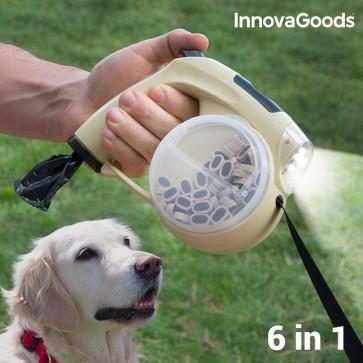 InnovaGoods 6 in 1 intrekbare hondenriem