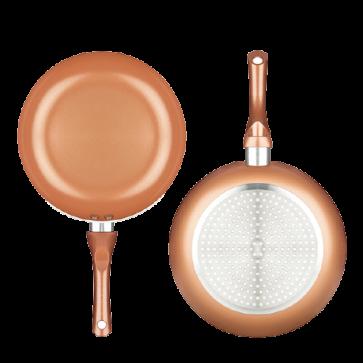 Innovagoods Copper-Effect pannenset