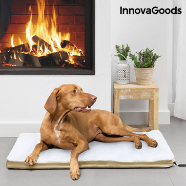 InnovaGoods Groot Verwarmd Huisdierenkussen