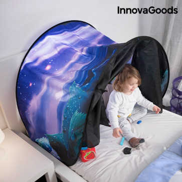 Innovagoods Kindertent voor op bed