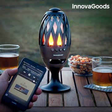 InnovaGoods Ledfakkel met Bluetooth Luidspreker