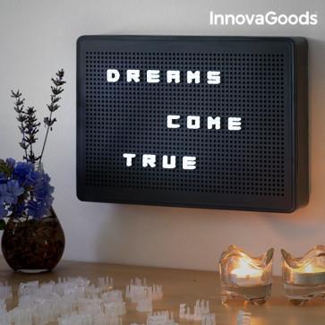 Innovagoods LED PEG Letterbord