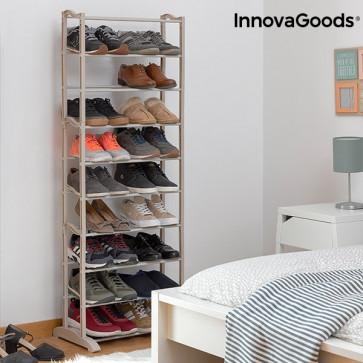 InnovaGoods schoenenrek (25 paar) slaapkamer