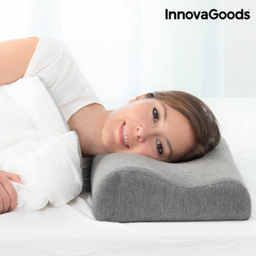 Innovagoods Visco-elastisch hoofdkussen met Bamboehoutskool